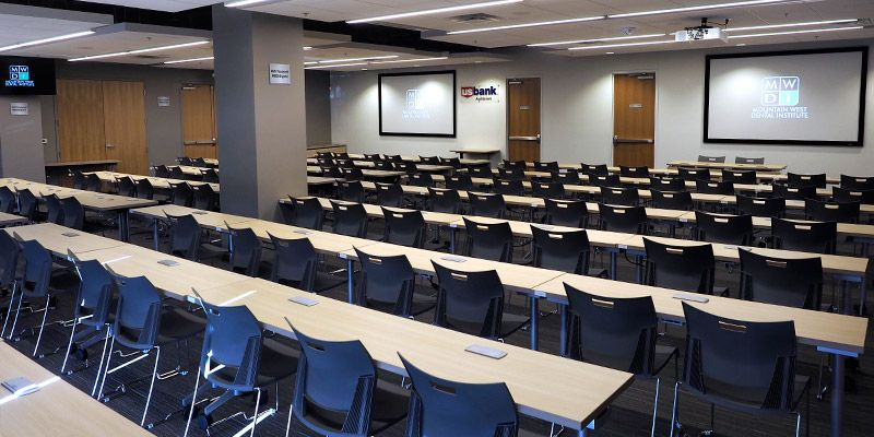 Mountain West Dental Institute (MWDI) Auditoriums A & B comibinded