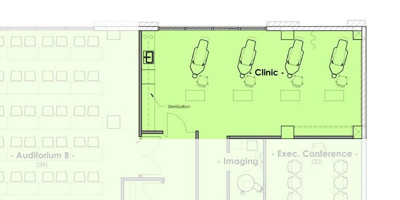 Mountain West Dental Institute (MWDI) Continuing Education Clinic Layout