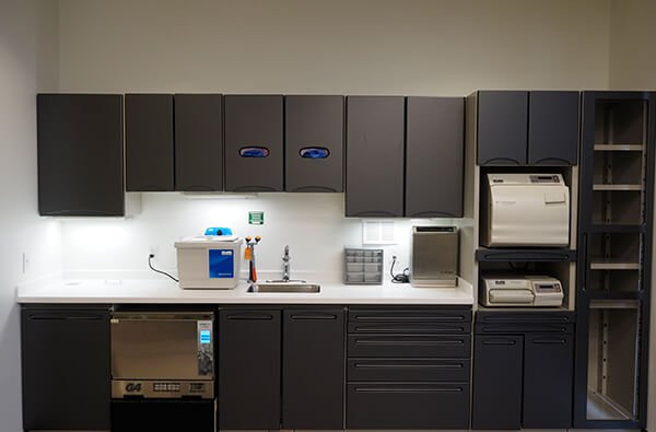 Mountain West Dental Institute (MWDI) Clinic sterilization station