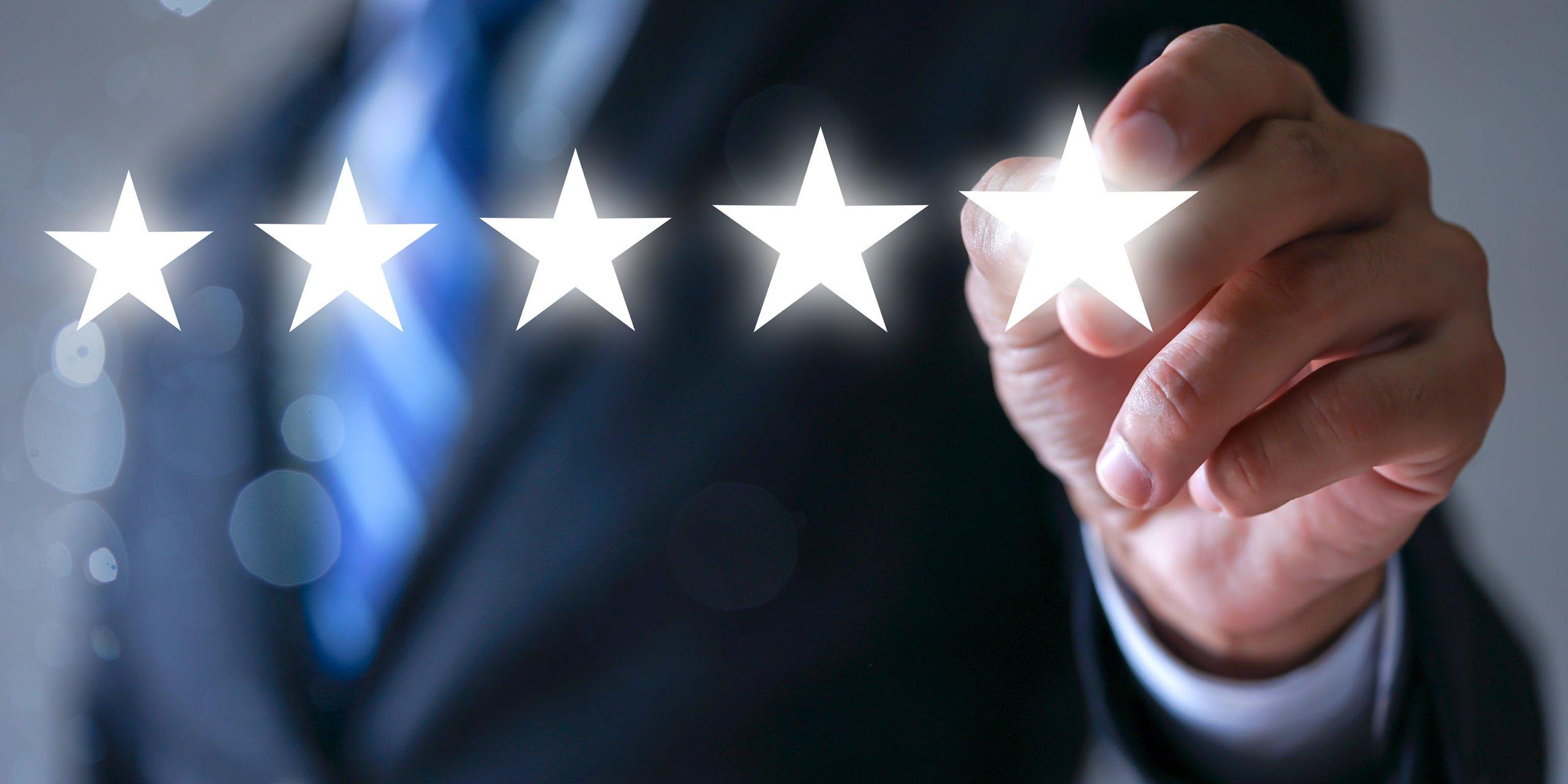 5 stars business man
